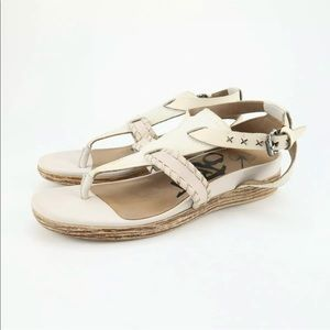 OTBT Celestial Clay Ankle Strap Thong Sandals